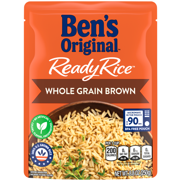Microwavable Rice Steamed Ben